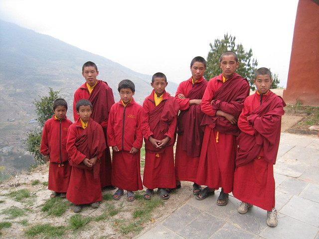 Mini Monks!
