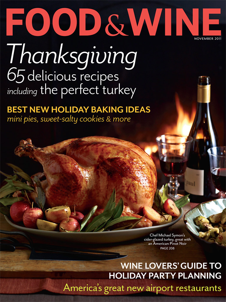 food&wine cover nov 2011