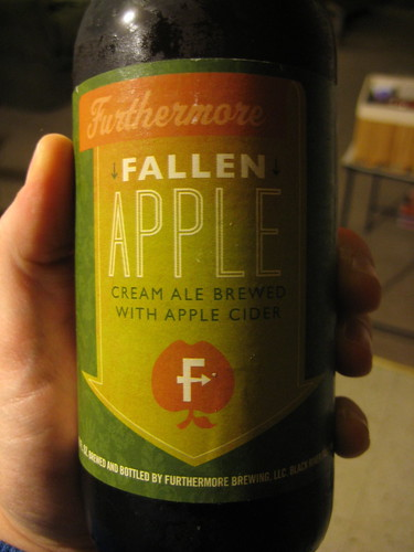 Fallen Apple Cream Ale Brew with Apple Cider