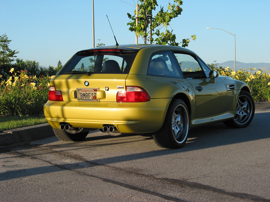 2001 M Coupe Phoenix Yellow Gray Black Coupe