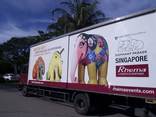 Elephant Parade Singapore 2011
