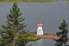 DGJ_4720 - McNeil Beach Lighthouse (archer10 (Dennis) (74M Views)) Tags: lighthouse canada island nikon novascotia free capebreton dennis jarvis d300 iamcanadian 18200vr freepicture 70300mmvr dennisjarvis archer10 dennisgjarvis wbnawcnns mcneilbeach
