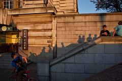 Zen (Gary Kinsman) Tags: london southbank se1 canon5dmkii canoneos5dmarkii canon28mmf18 candid streetphotography streetlife shadow streetshadow shadowplay golden evening steps zen zencafe thelifeofshadows 2011 people person