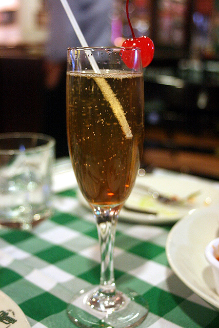 Kir Royale at O'Learys Sports Bar