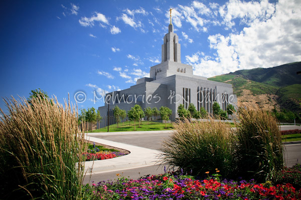Draper Vintage LDS Temple Prints -4818