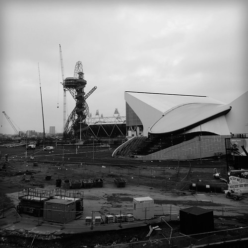 Orbit and Aquatics Olympic Park London