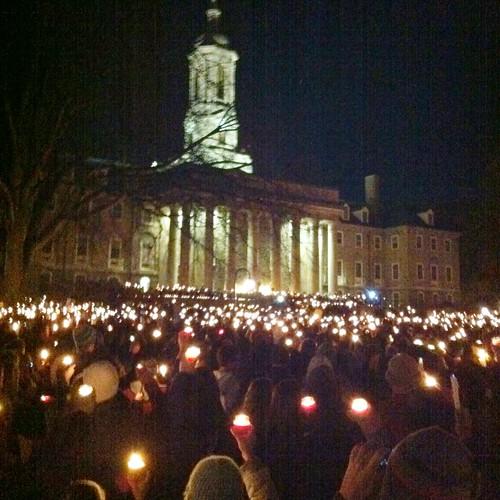 325/365: Vigil at Penn State