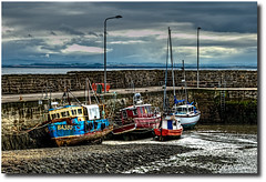 St. Monans Harbour (carrmp) Tags: uk seascape landscape boats scotland harbour fife monans