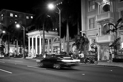 Moana Surfrider Hotel (come_wat_may) Tags: bw art me canon hawaii waikiki streetshots stephanie honolulu kev 2470l saturdays tamiko cs5 lightroom3