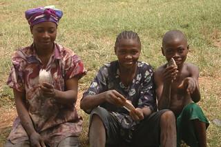 Aquaculture, Cameroon. Photo by Randall Brummett, 2004