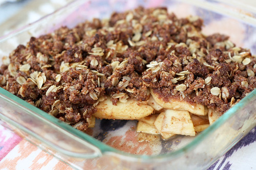 Apple Crisp (Gluten-Free and Vegan)