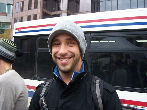 Justin Poulin Occupy Columbus