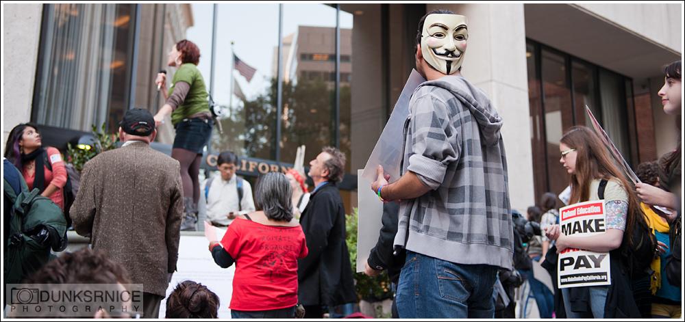Occupy San Francisco Protest, 11.16.11