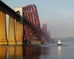 MISTY CROSSING (kenny barker) Tags: bridge mist colour water fog river landscape lumix scotland fife forth forthbridge queensferry coastuk panasonicg1 sailsevenseas fleursetpaysages lelitedespaysages kennybarker