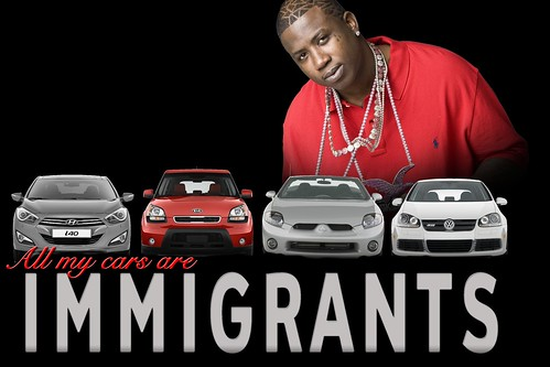 Gucci Mane - All My Cars are Immigrants