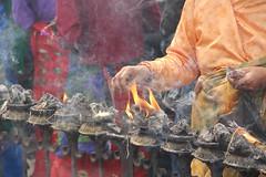 Ceremony (craigkass) Tags: nepal india temple faith prayer religion buddhism kathmandu himalaya monkeytemple swayambhunath earthasia
