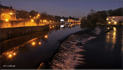 CHESTER WEIR AT NIGHT (Shaun's Nature and Wildlife Images....) Tags: england chester shaund