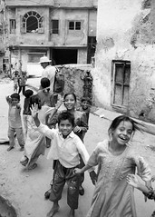 Udaipur, September 1999 (Riverman___) Tags: party blackandwhite india film smile station children soldier army 50mm md election day minolta political 28mm hp5 laughter polling ilford fp4 f28 udaipur x700 f17 rokkor