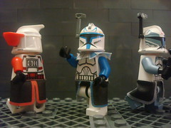 MMCB Custom Minifig Pauldron and Waistcapes (commanderdell) Tags: star lego wars custom pauldron mmcbcapes wastecapes