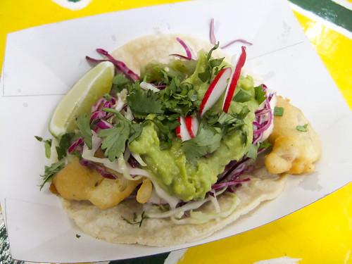 Fish Taco Deluxe, Rockaway Taco