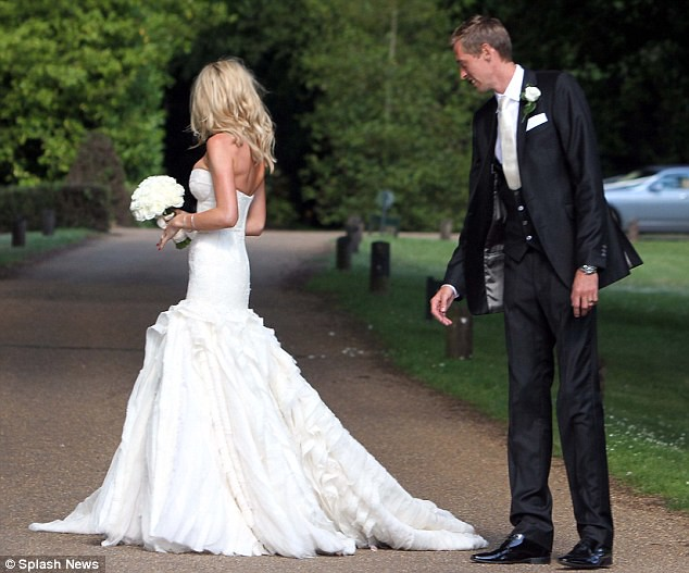 Nice day for a WAG wedding as Peter Crouch ties the knot with Abbey Clancy  10