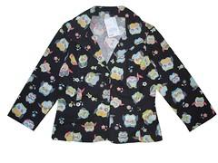 Blazer corujas (Zizi Anil) Tags: moda estilo mulheres blazer compras roupa estampas feminino vesturio estampado tendncia lojavirtual comprasonline zizianil fotosderoupas