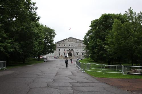 カナダ総督邸ひき