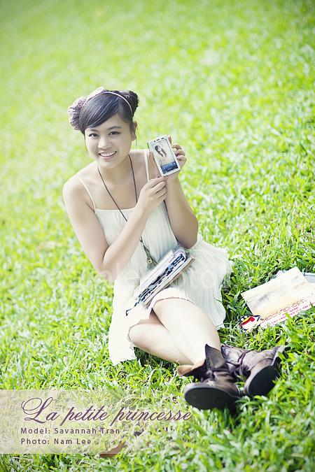 chụp album hình chân dung ngoại cảnh - model Savannah Tran