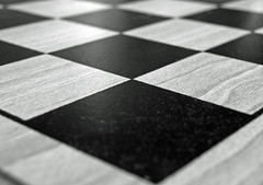 Chessboard (Kaptain Kobold) Tags: white black game colour lines squares grain ivory angles monthlyscavengerhunt ebony msh chessboard chequerboard kaptainkobold msh1011 msh101112