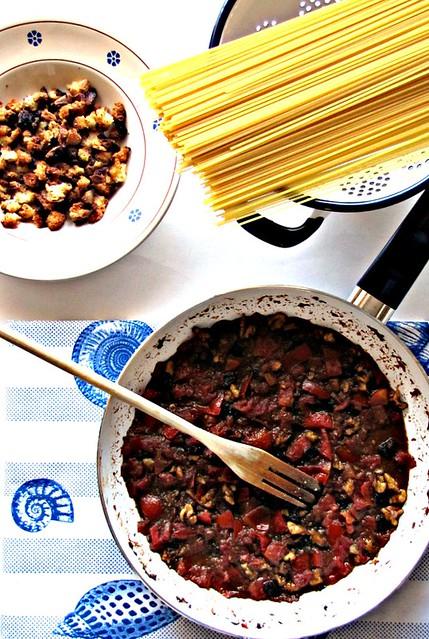 Spaghetti alle Acciughe di Jamie Oliver (2)