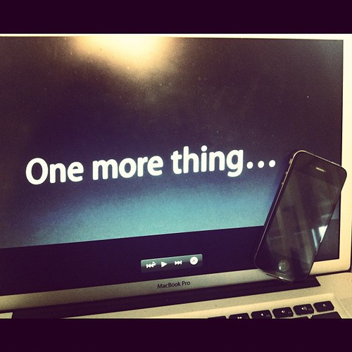 Getting ready for the Apple Keynote, and you? #apple #keynote #iphone #ios5