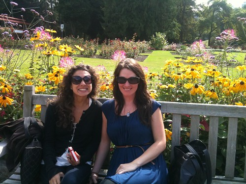 Stephanie & Stacey @ The Rose Garden