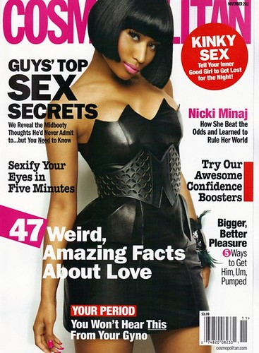 nicki minaj cosmo magazine cover