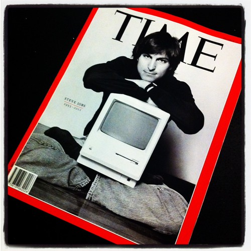 We got ourselves the TIME magazine today