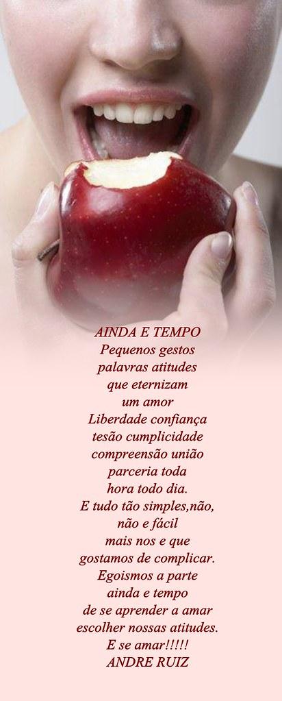 AINDA E TEMPO