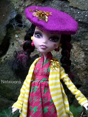 Monster High Afternoon Tea - Draculaura (Nataloons) Tags: party paris fashion monster by high doll tea mattel louos souol monsterhigh draculaura