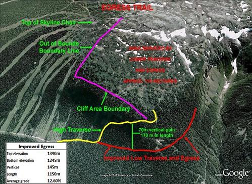 Mountain improvement map