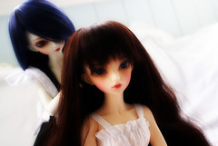 Brush Ze Hair (Onizel) Tags: bjd fairyland mnf minifee rheia ryeon