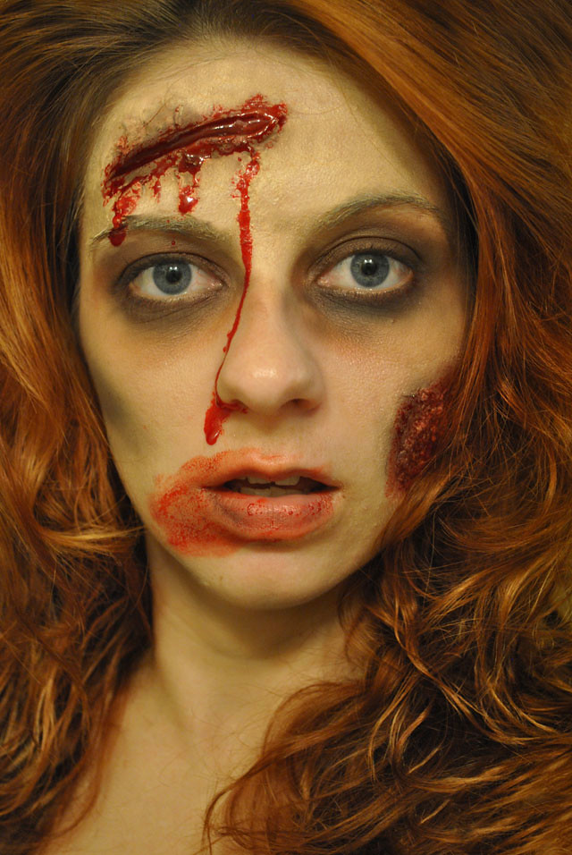Mary Rebecca: Zombie Makeup Tutorial Guest Post by Tera of ...