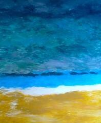 die saat der freiheit wächst im gewitter (Natalie Vogel Malerei) Tags: meer wasser kunst hamburg zürich bilder acryl malen malerei zeichnen ölbild ölbilder natalievogel