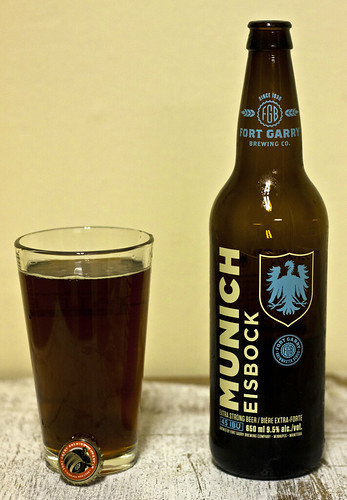 Review: Fort Garry Munich Eisbock by Cody La Bière
