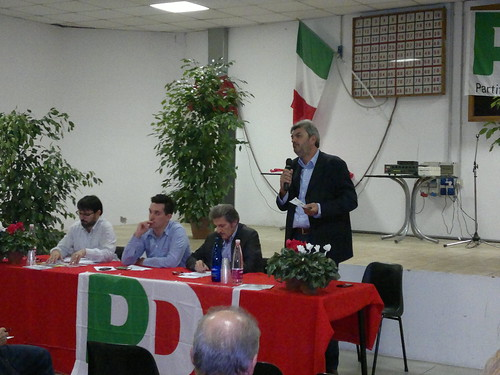 Dibattito alla festa PD di Borella