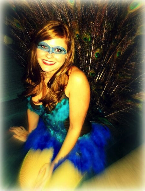 DIY Halloween: Peacock Costume