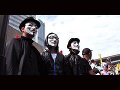 Occupy Hong Kong ([~Bryan~]) Tags: street hongkong central protest documentary v wallstreet vforvendetta occupywallstreet occupyhongkong