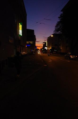 ザルツブルグの夕日
