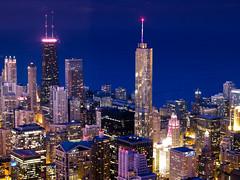 64 (aerojad) Tags: longexposure chicago night bestof searstower skydeck willistower