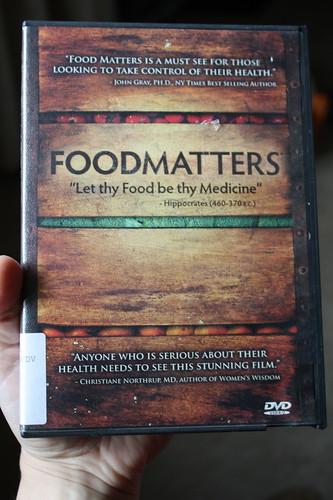 Foodmatters DVD