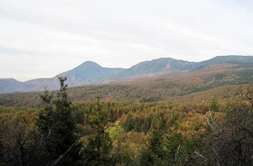 蓼科山と北横岳/八方台より 2011年10月17日 by Poran111