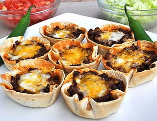 Muffin Pan Tacos