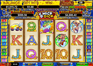 Mice Dice slot game online review